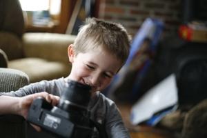 _MG_1871 - Billy loves his camera