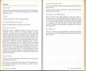 book inside - Know Your Bible